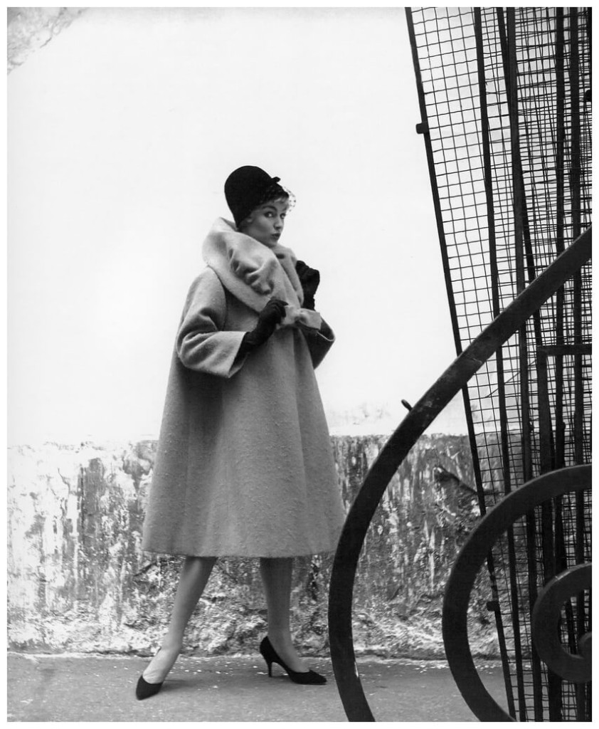 jill-howard-in-coat-of-shetland-bouclc3a9-mohair-by-lanvin-castillo-photo-by-georges-dambier-elle-september-1-1958