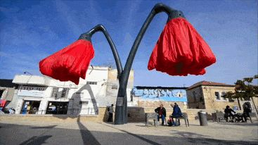 inflating-flowers-warde-hq-architects-jerusalem-gif-3