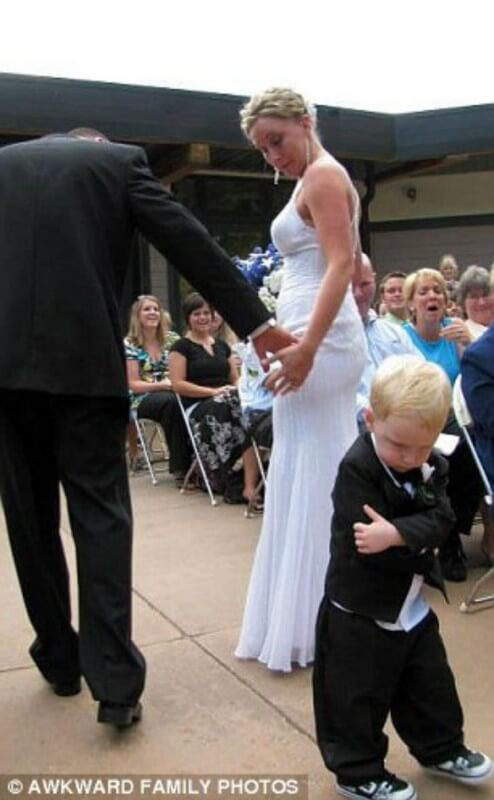 This-little-guy-had-it-with-walking-down-the-aisle-altogether-494x800