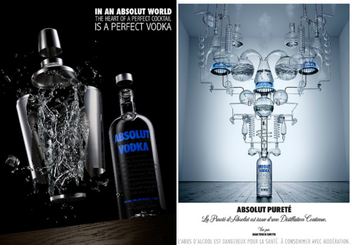 critical analysis of absolut vodka perfect