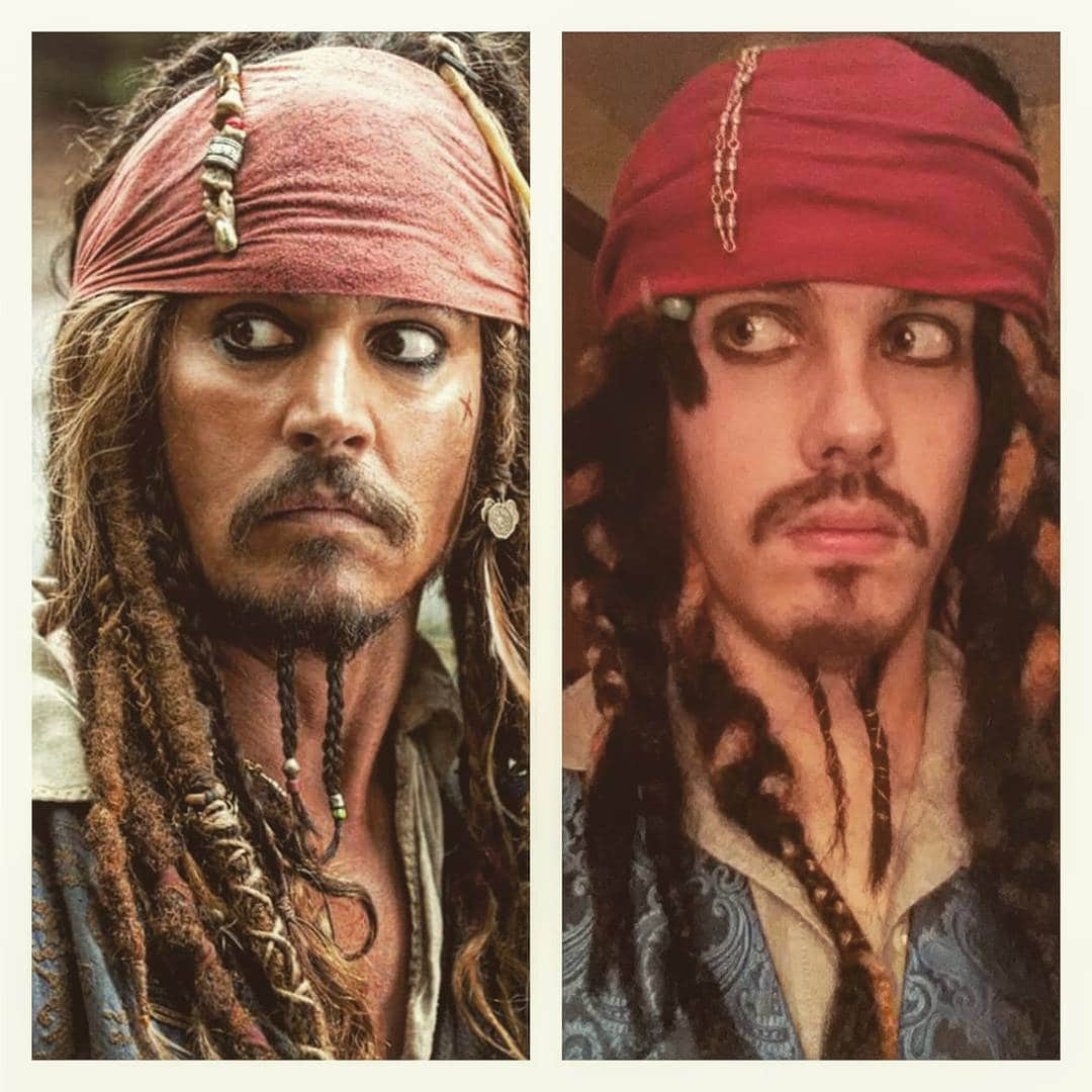 Copying Johnny Depp