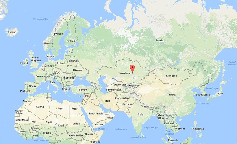 location of Shet district on the world map