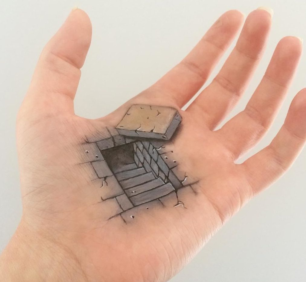 optical-illusions-body-art-awesome-arts-and-crafts-stairs