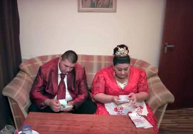 Slovakian gypsy wedding рис 7
