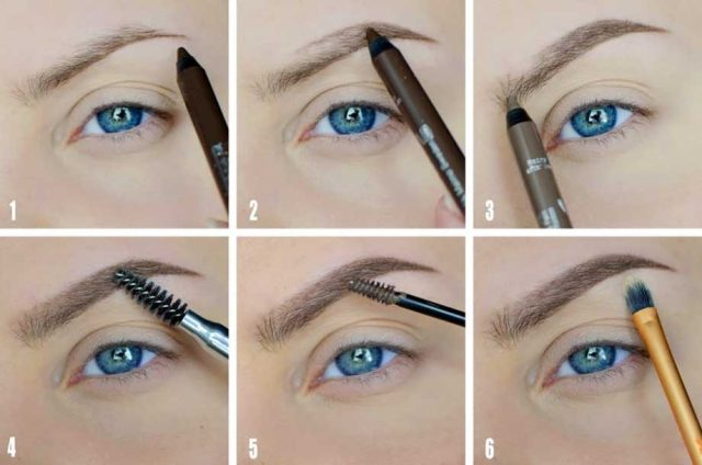 eyebrows рис 4
