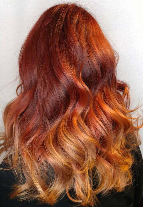 fiery-ombre-hair-color