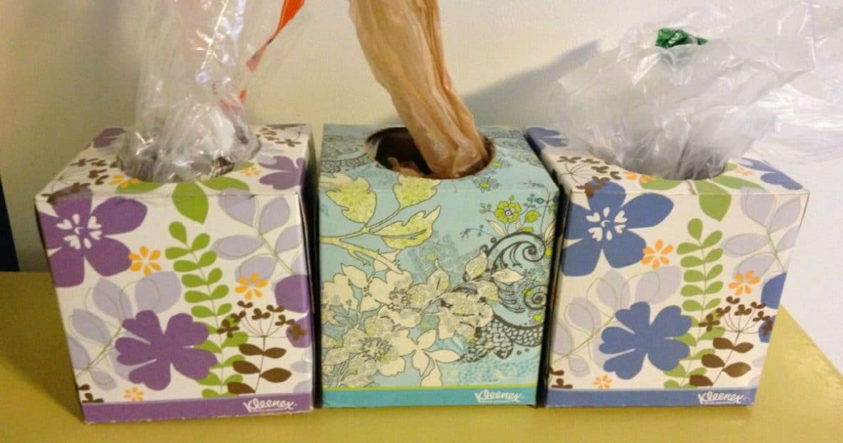 use-a-tissue-box-to-easily-store-and-dispense-plastic-grocery-bag-e1515399371928