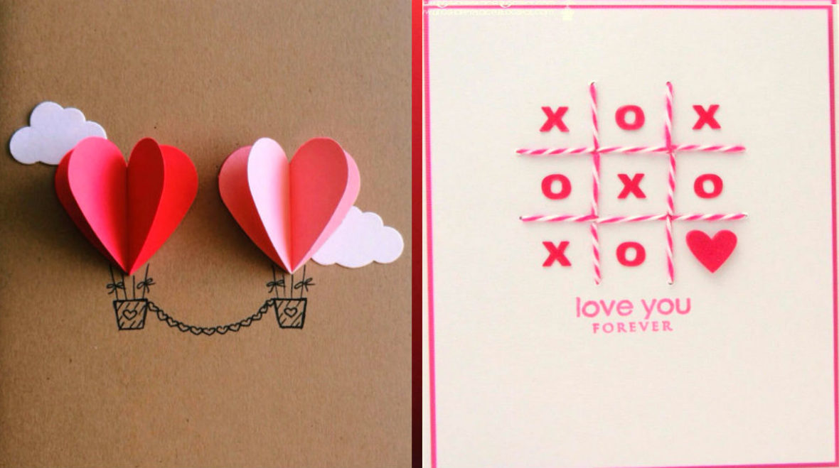 Couple-Heart-Hot-Air-Balloon-Card-25-Easy-DIY-Valentines-Day-Cards-NoBiggie